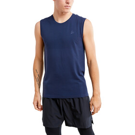 Craft Fuseknit Light T-shirt Manches longues Col rond Homme, blaze